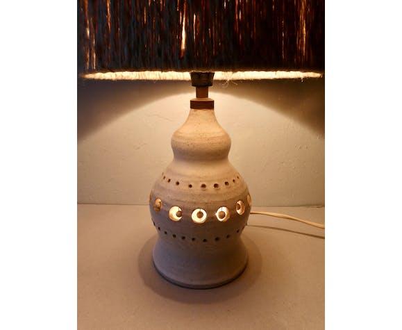 Lampe en céramique Georges Pelletier, années 60