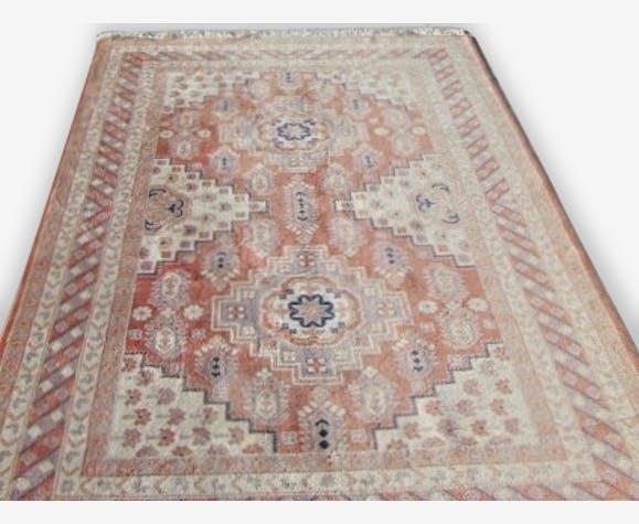 Tapis Marocain Laine 280x170 Lainecoton Orange éthnique 129012