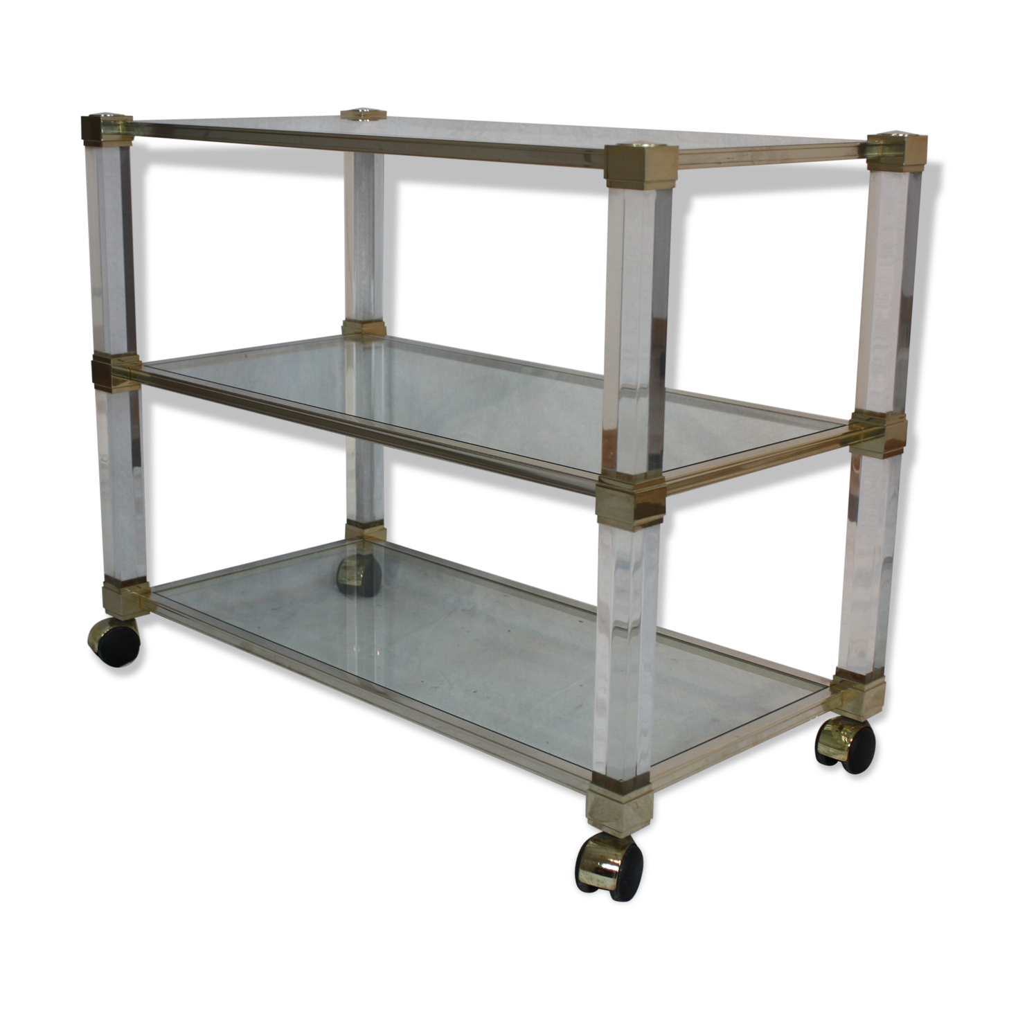 cheap desserte bar roulant pierre vandel paris with bar roulant de jardin. Black Bedroom Furniture Sets. Home Design Ideas