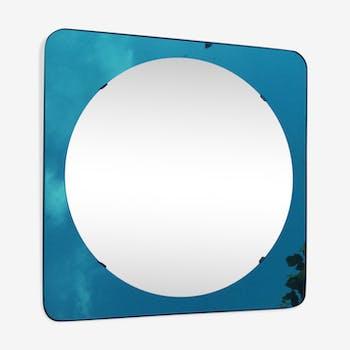 Miroir design 1970 verre et cristal transparent design qz7wfvs for Miroir teinte design