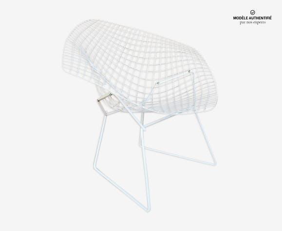 Fauteuil Diamond chair par Harry Bertoia pour Knoll