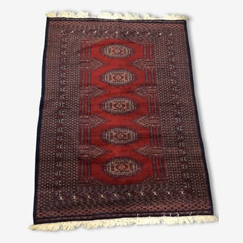 Tapis noué main boukhara neuf, 128x169