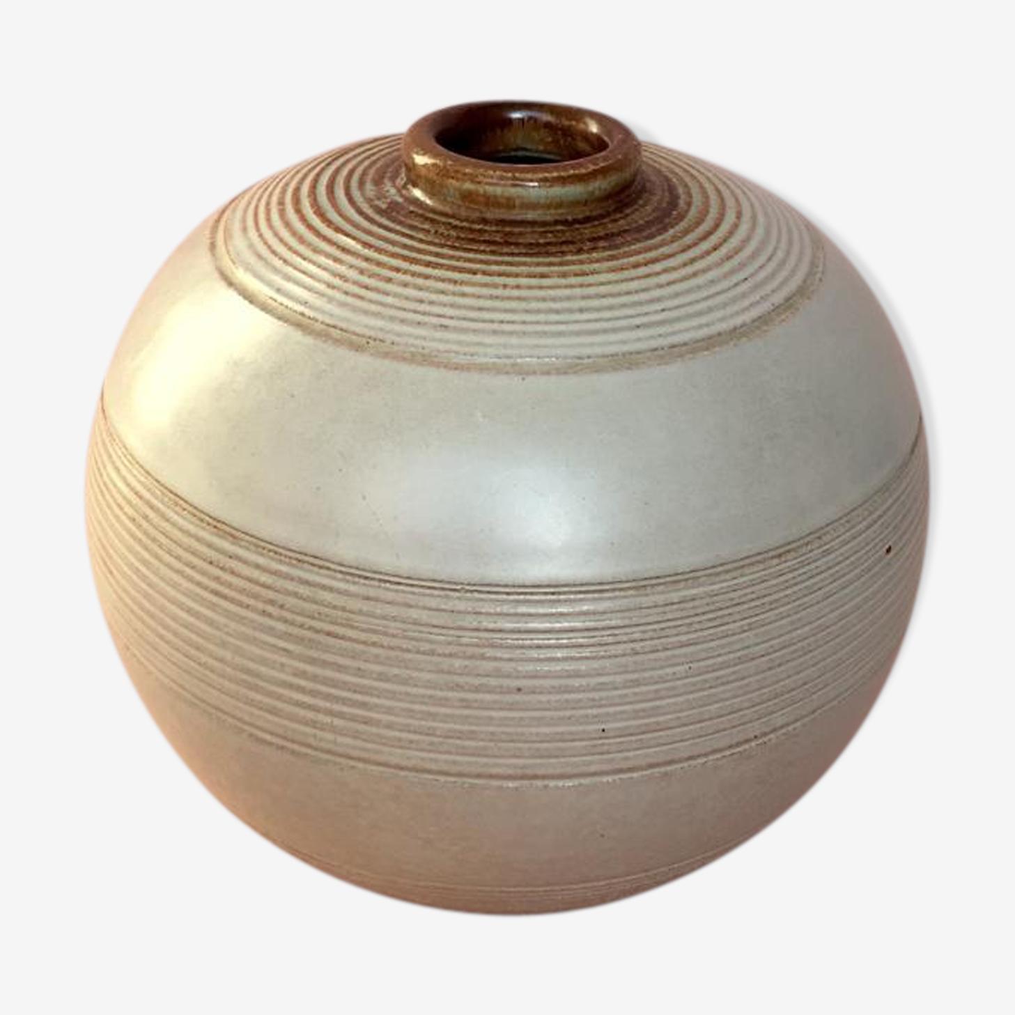 Vase en céramique art déco par Anna-Lisa Thomson pour Upsala Ekeby années 1930