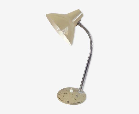 Lampe  vintage 1950 beige