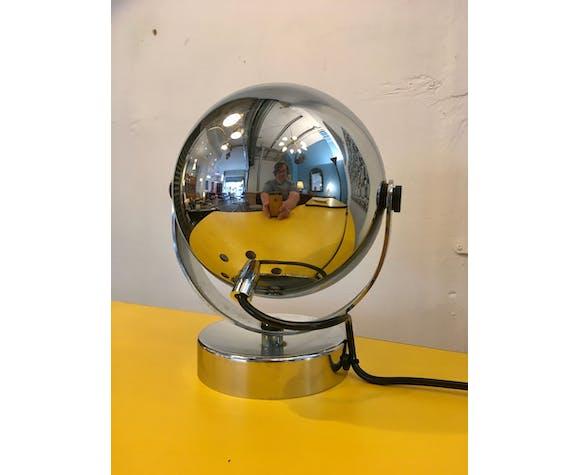 Spot eye ball chromé de Reggiani, 1970