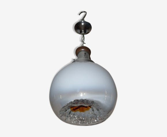 Suspension globe verre de Murano