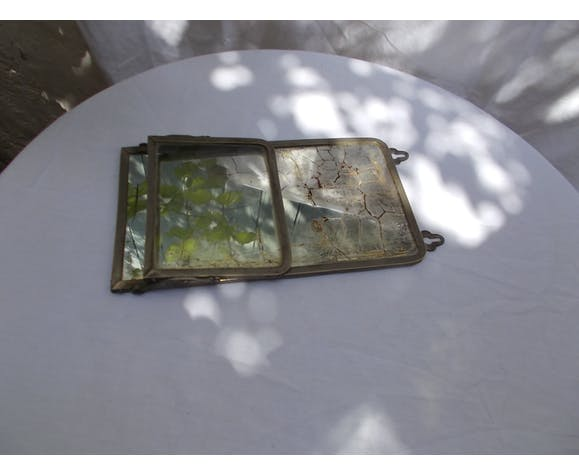 Miroir de barbier 29 x 15,5 cm