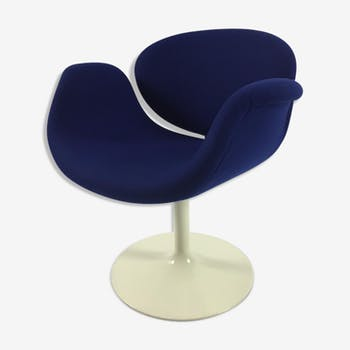 Chair Tulip blue by Pierre Paulin for Artifort 1960