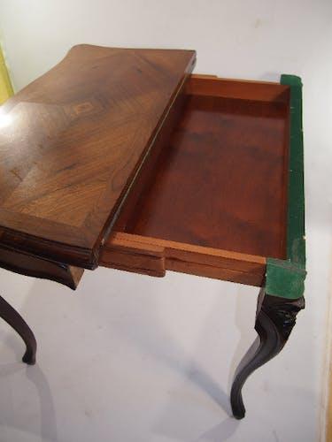 Table à jeux Louis XV