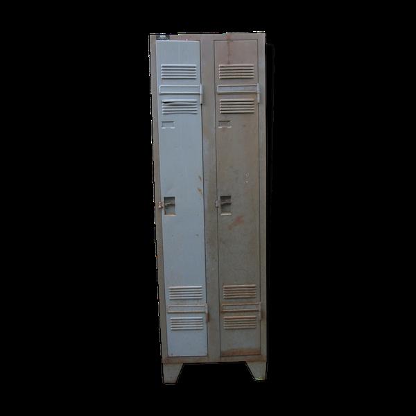 Vestiaire métal 2 portes