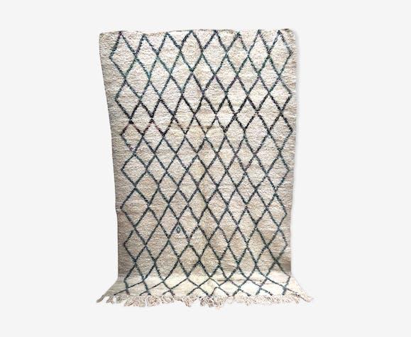 Old Moroccan Berber carpet Beni Ouarain 3.06x1.99m