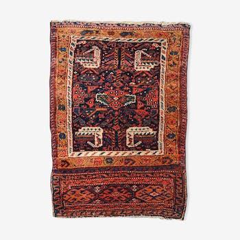 Carpet Persian Kurdish 58cm x 79cm 1880 s