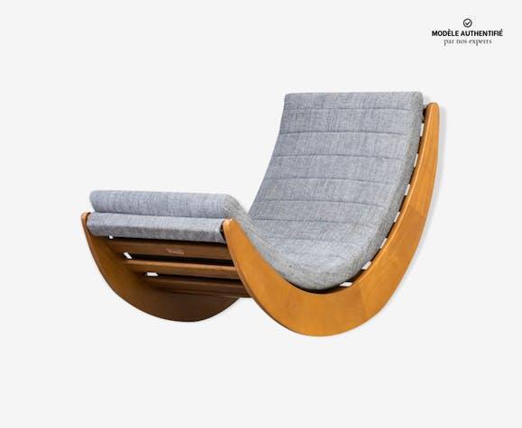 Verner Panton reproduction sous licence relax rocking chair pour Matzform