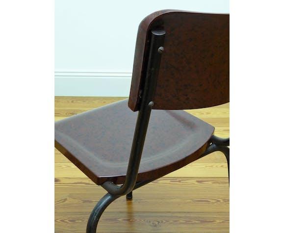 4 chaises Herbst en bakélite 1940