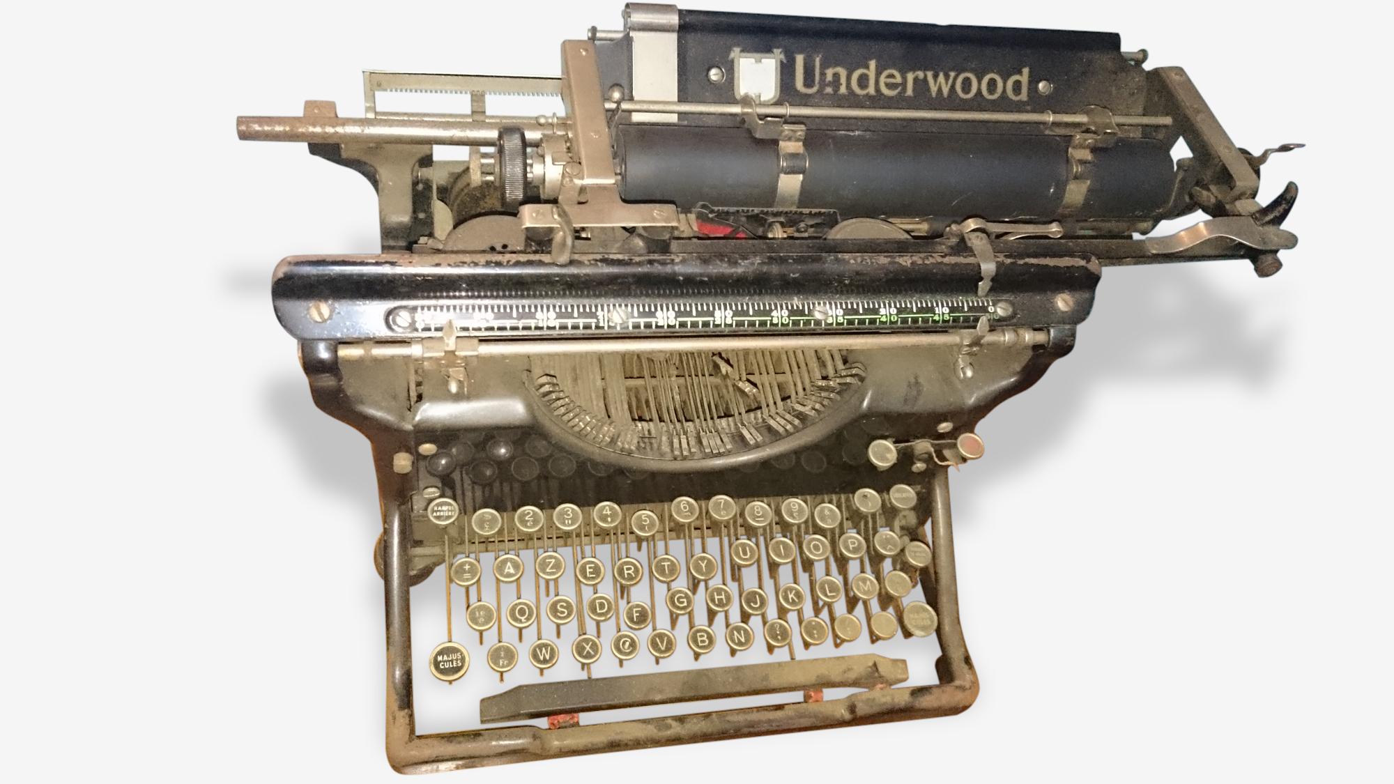 1machine à écrire underground