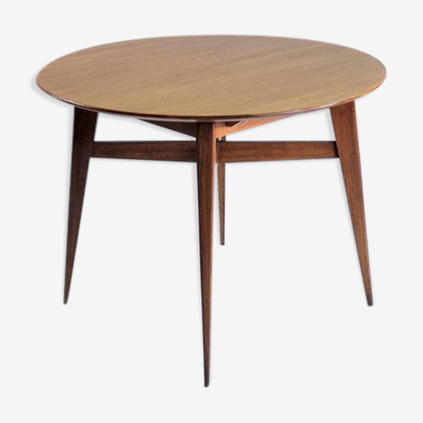 Table en chêne Roger Landault 1950
