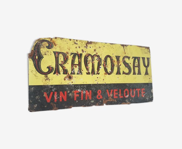 Old gramoisay emailed plate