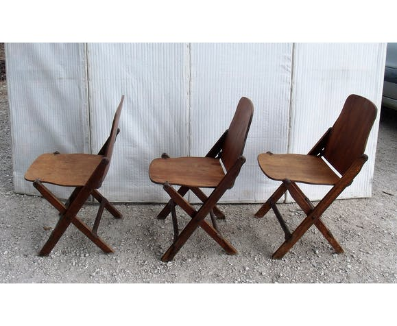 chaise pliante en bois usa