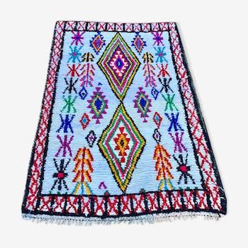 Carpet boucherouite 200 x 125 cm