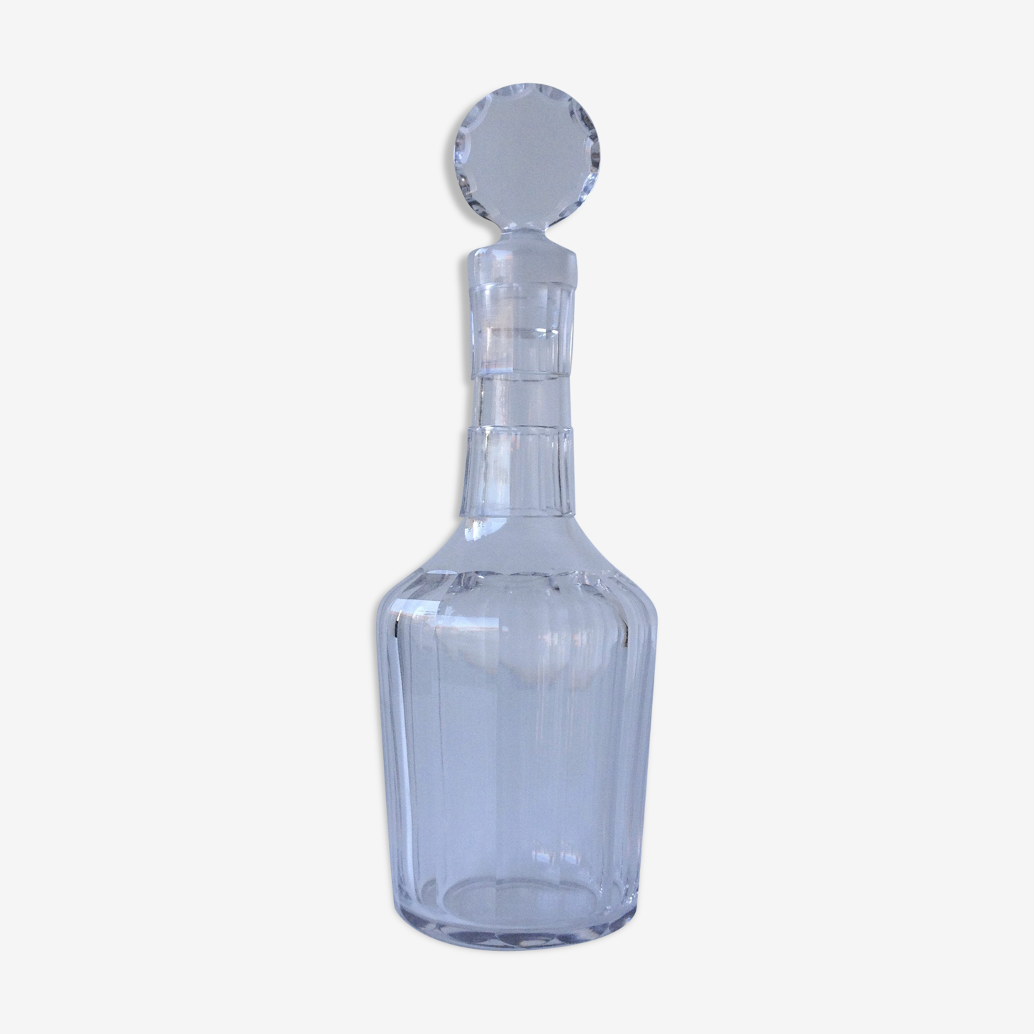 Perfumer bottle with crystal stopper