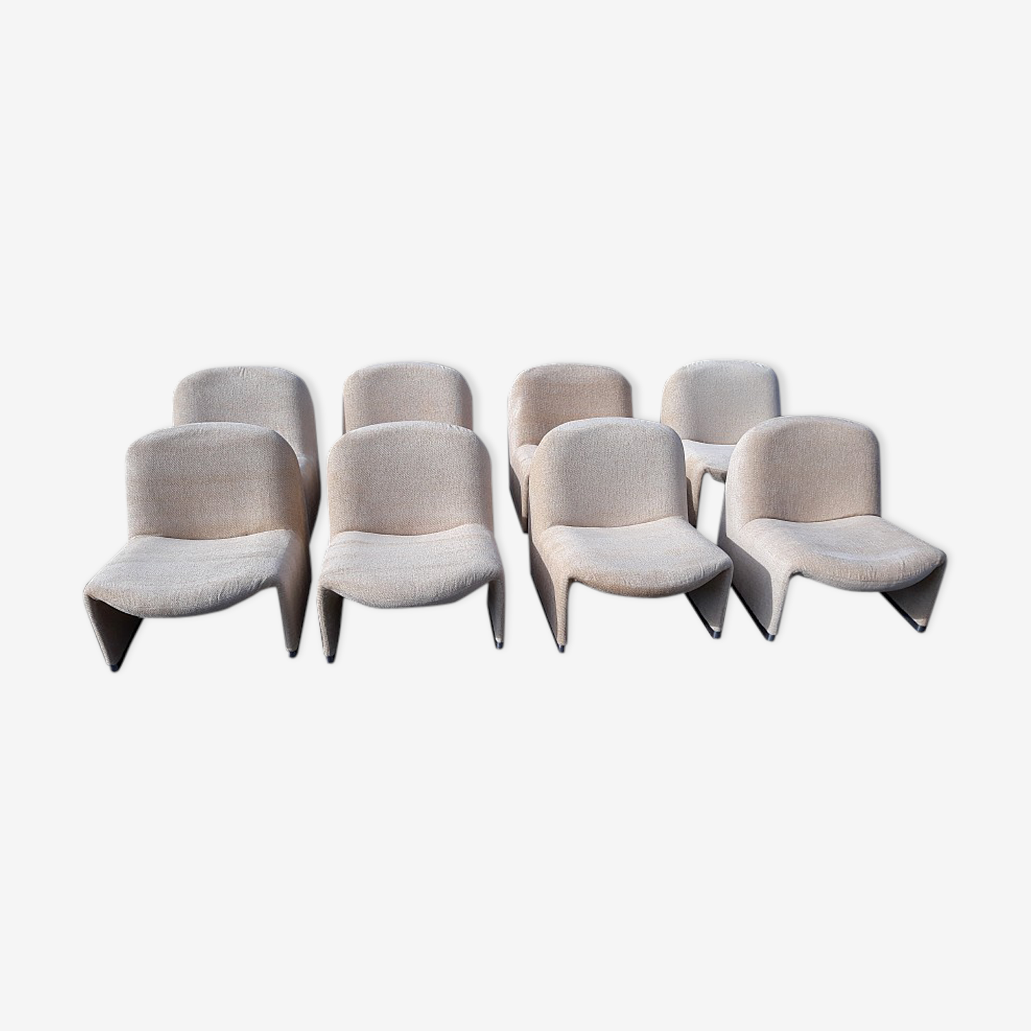 Armchairs Alky by Giancarlo Piretti  for Castelli