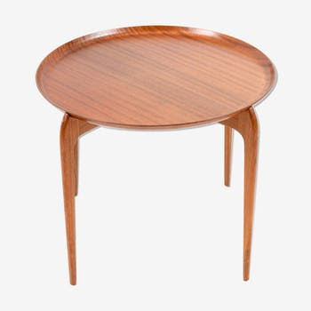 Table à plateau en teck par Willumsen & Engholm pour Fritz Hansen Danemark