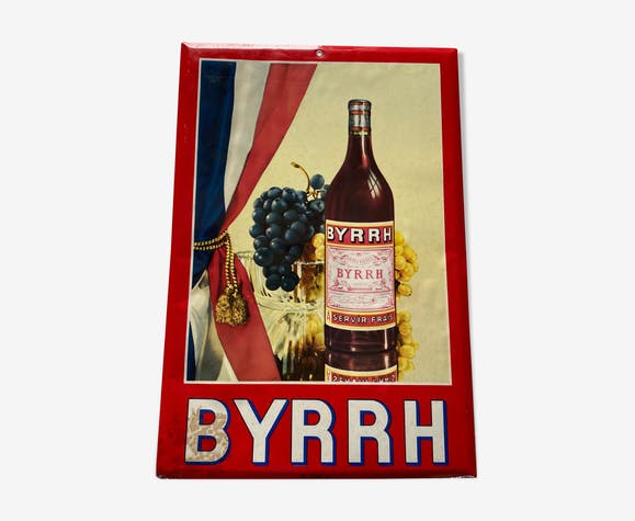 Pub Byrrh for decoration