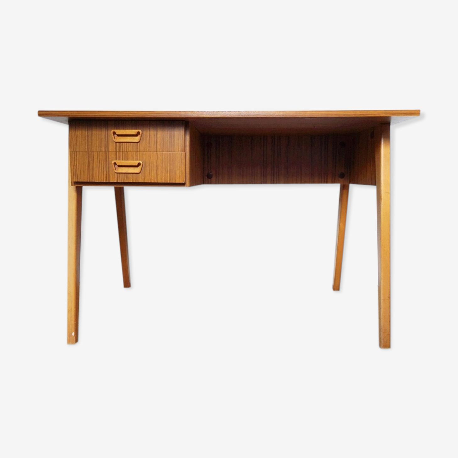 Scandinavian teak desk