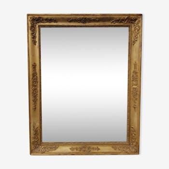 Miroir ancien d'époque Louis-Philippe 63x80cm