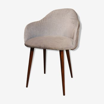 Chaise design industrielle scandinave vintage d 39 occasion for Chaise annee 90