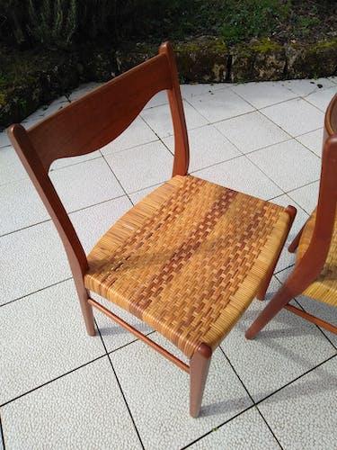 Set of 4 Danish Stolefabrik chairs