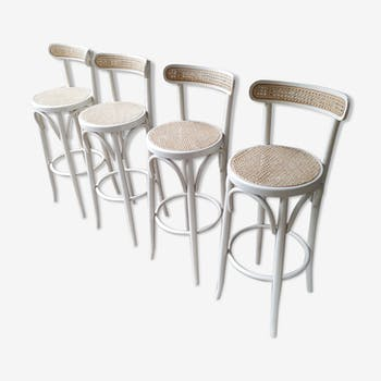 Series of cane stools