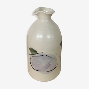 Vase céramique inspiration japonaise 1970