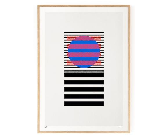 Segments No.2 Art Print