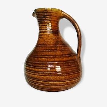 Pitcher ceramic vase Accolay