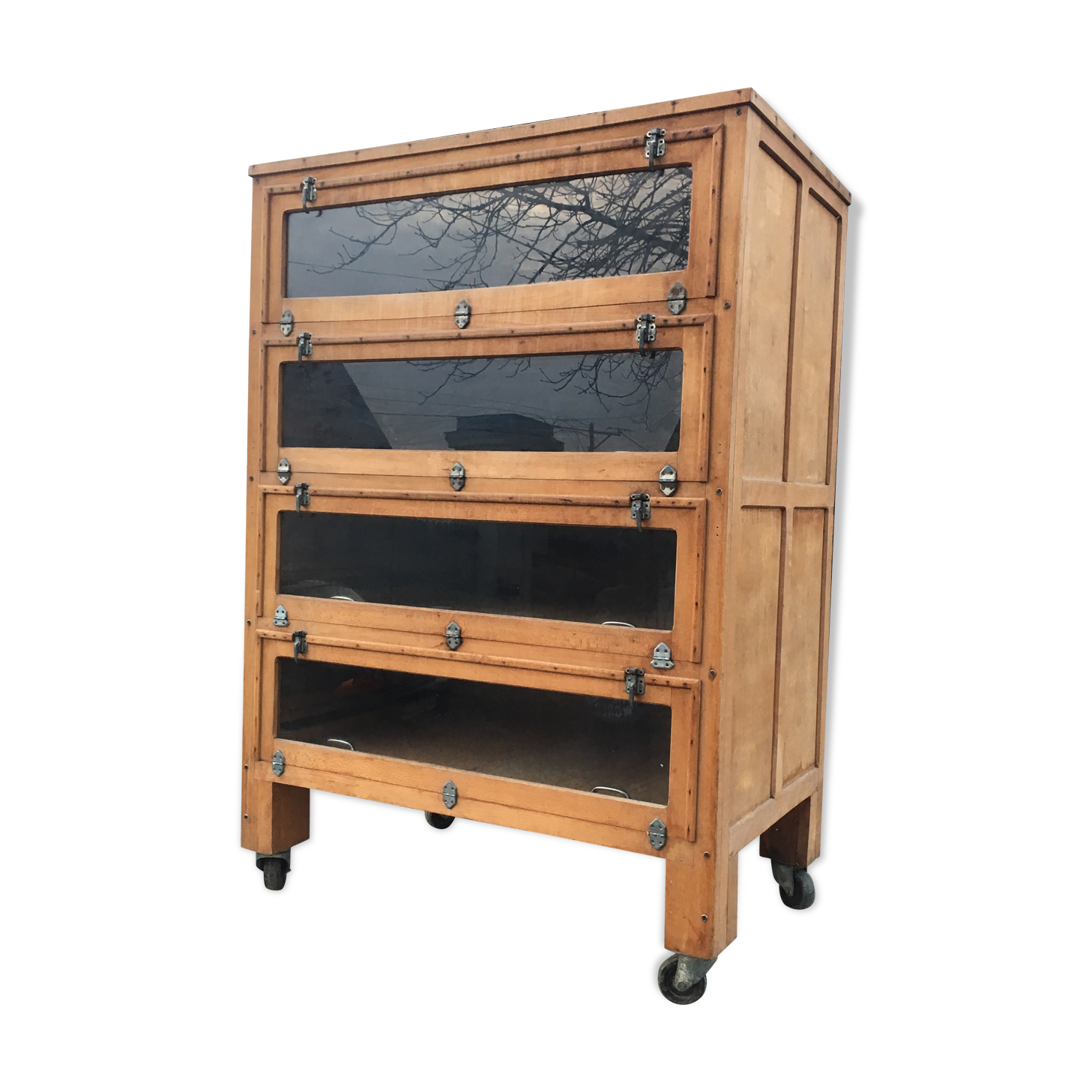 Meuble Tv Industriel Occasion Perfect Enfilade Bahut Buffet  # Meuble Tv Merisier Occasion