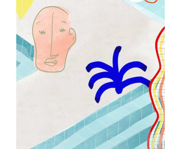 "Illustration ""Inside Morocco 01"""