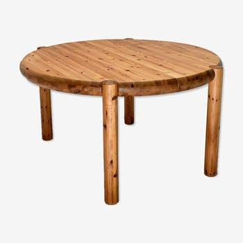 Pine table by Rainer Daumiller, for Hirtshals Sawmill, 1960
