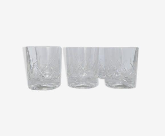 6 cristal whisky verres