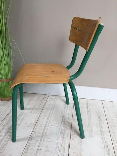 Chaise d'écolier