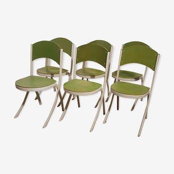 Serie de 6 chaises