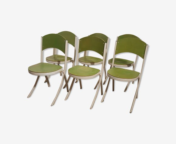 Series of 6 chairs