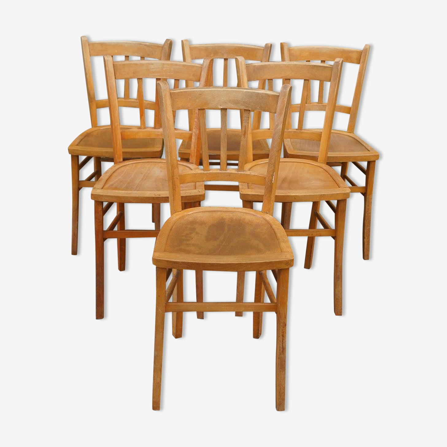 Set of 6 luterma chairs