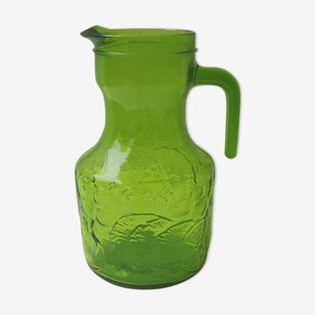 70's Green Pitcher