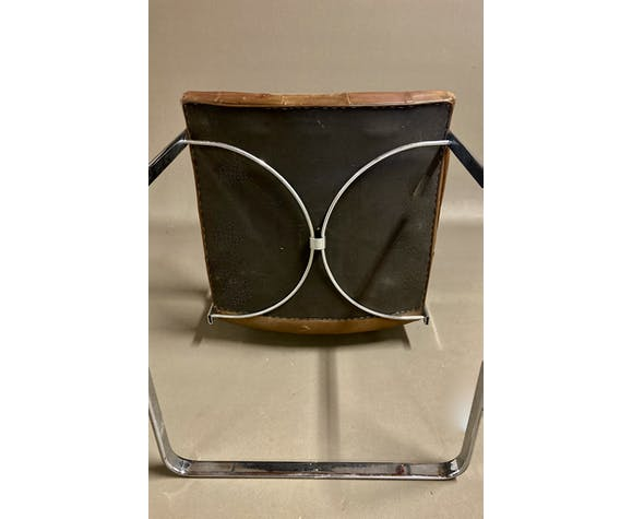 fauteuil en cuir Robert Haussmann