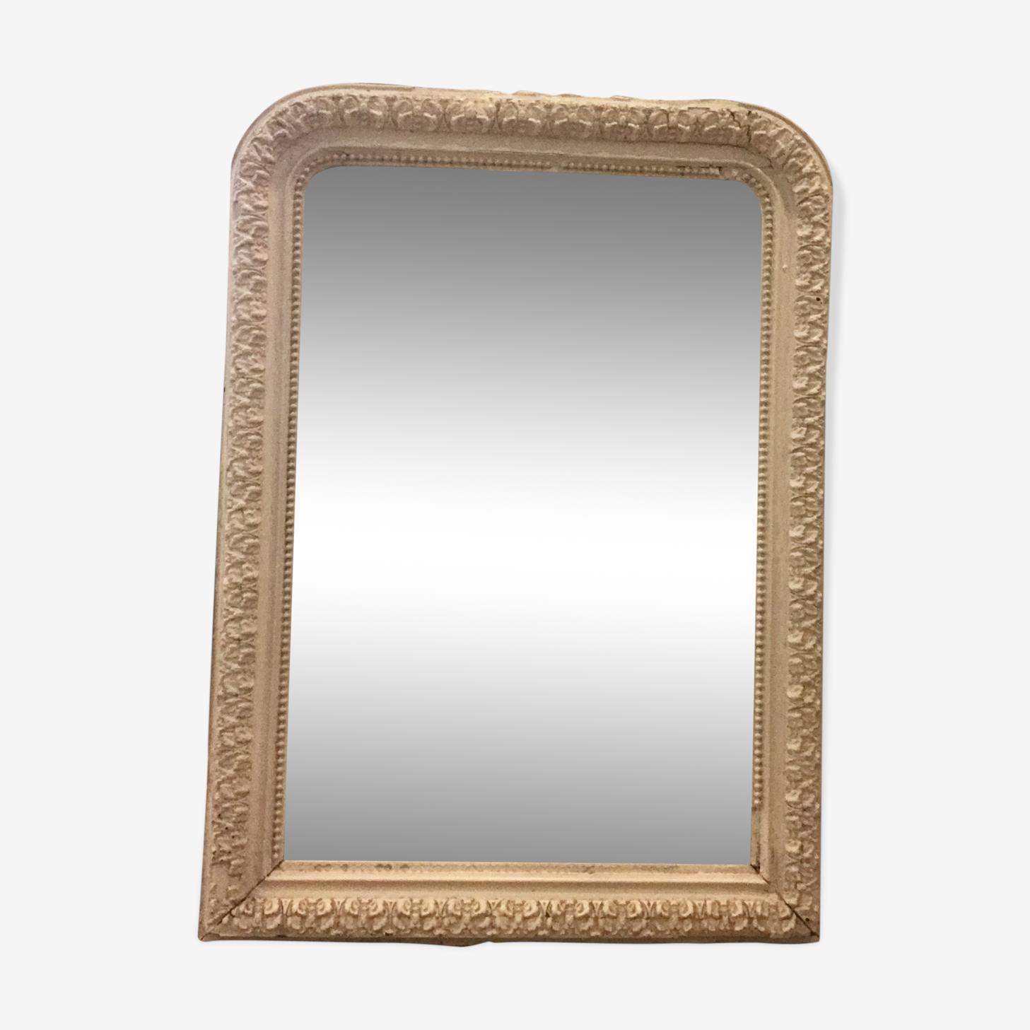 Miroir de cheminée ancien 75x105cm