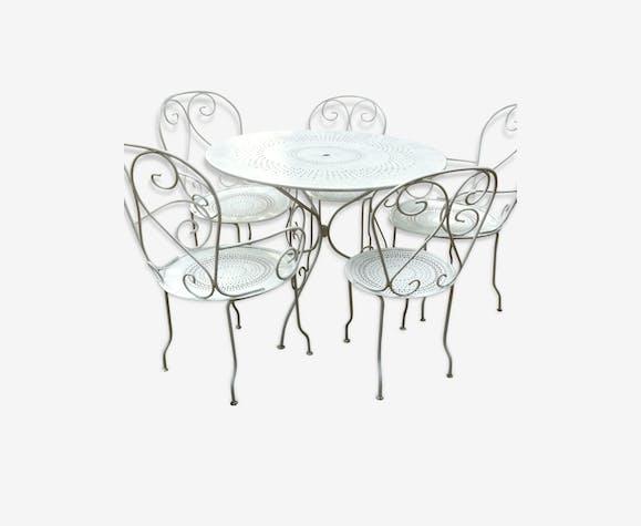 salon jardin fer romantique(antiquité du jardin) - métal ...