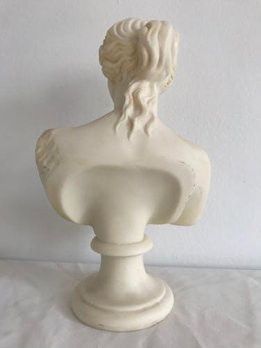 Buste grec en résine