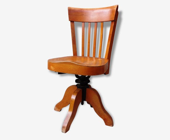 Chaise N°153 Baumann 1939matériau Massif Bois Pivotante gYbvyIf76m