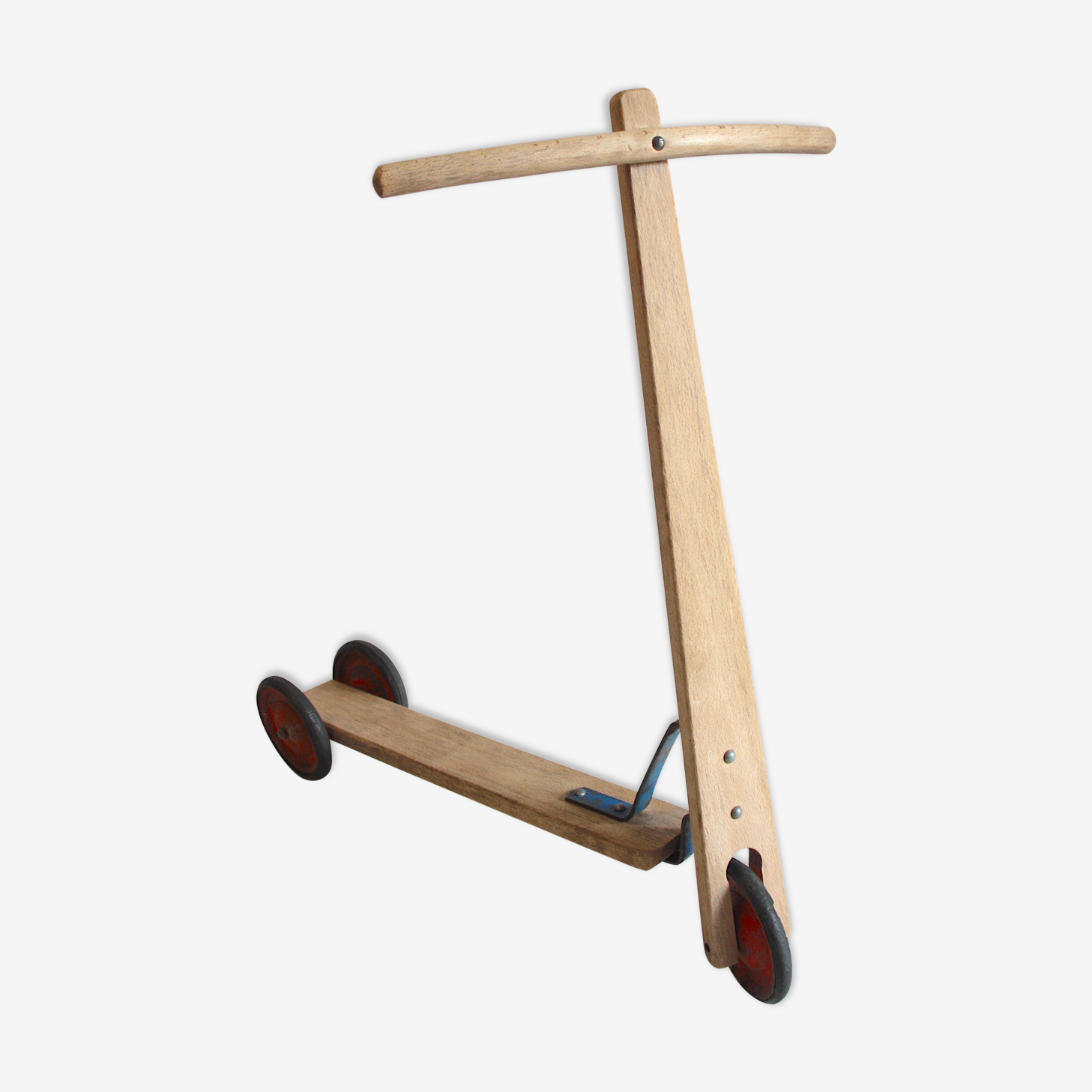 Scooter wood and metal
